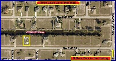 2nd WATERFRONT FLORIDA CAPE CORAL Lot Naples Land Ft Fort Myers Port Charlotte