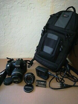 Pentax K-50 Camera Bag Extra Lens