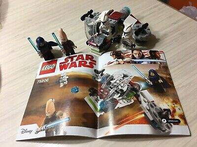 *PARTS ONLY* LEGO Star Wars Jedi and Clone Troopers Battle Pack 75206