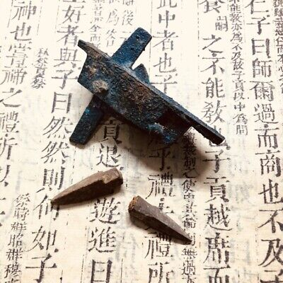 ANCIENT Chinese  Han dynasty  BRONZE CROSSBOW   2200 years old