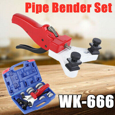 WK-666 Multi Copper Pipe Bender Practical Kit Manual Aluminum Tube Bending Tool