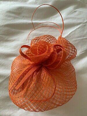 Gorgeous Orange Fascinator by Failsworth - Brand New with tags. ASCOT / WEDDING