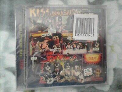 Kiss - Unmasked - Cd Remastered - Nuovo Sigillato