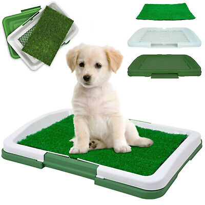Puppy Training Potty No Mess Trainer Dog Tray Indoor House Toilet Pet Mat 47 cm