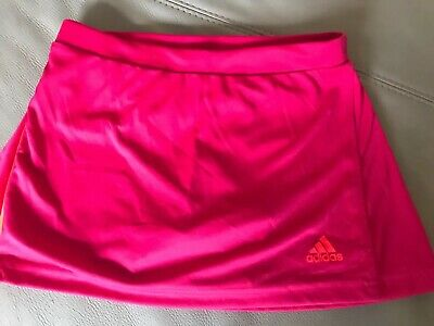 Adidas Girls Tennis Sports Skort Aged 9-10 Years,looks new,climalite material