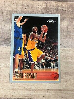 1996-1997 Kobe Bryant Topp's Chrome #138 REPRINT Rookie Card RC RP