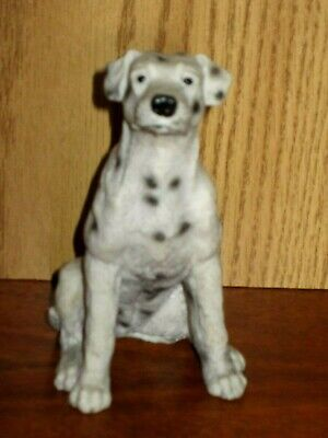 "Artmark Dalmation Dog Sitting 5"" Tall Resin Figurine Excellent Condition"