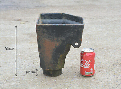 old cast iron corner drain hopper - FREE DELIVERY
