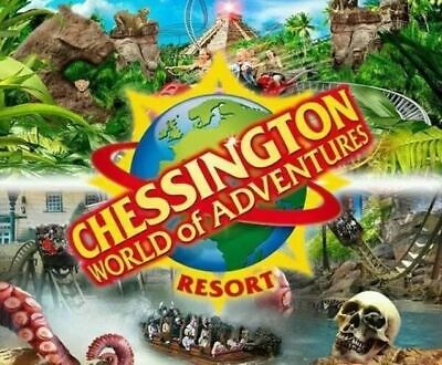 Chessington Ticket(s) Valid for use  WEDNESDAY 15th April - 15.04.2020 #HOLIDAYS
