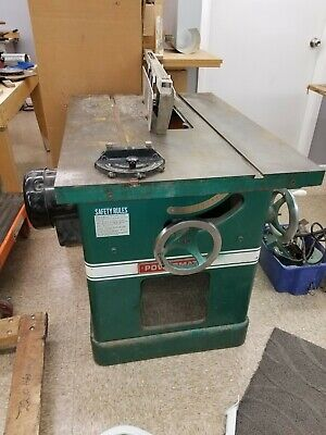 "Powermatic Model 72 5HP 14"" Workshop Table Saw with new 48"" Biesemeyer fence"