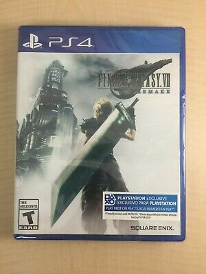 Final Fantasy VII: Remake Final Fantasy 7 [North American version] - PS4