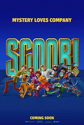 Scoob movie poster (b)  - 11 x 17 inches - Scooby Doo