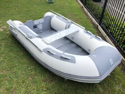2018 Inflatable Zodiac Cadet 270 Roll-Up Tender | BRAND NEW | White and Grey