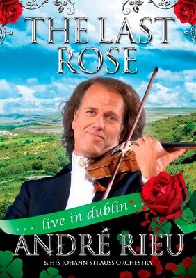 1169976 791984 Dvd Andre' Rieu & Johann Strauss Orchestra - Last Rose Live In Du