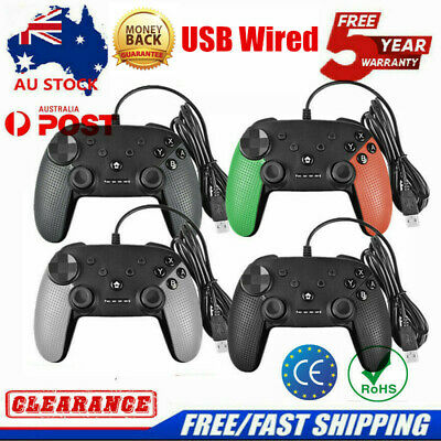2019 Wired Pro Controller Gamepad Joypad Joystick Console For Nintendo Switch TP