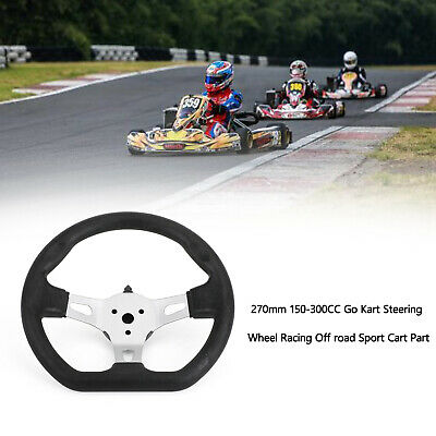 270mm 150-300CC Go Kart Steering Wheel Racing Off road Sport Cart Part
