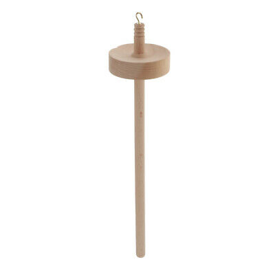 """Classic Drop Spindle Kit Top Whorl Spin Tool Craft for Beginner 12.6"""" Length"""