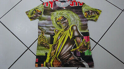 Iron Maiden Killers T-Shirt Vintage Rare! Megadeth Metallica Slayer Kiss Cd Lp