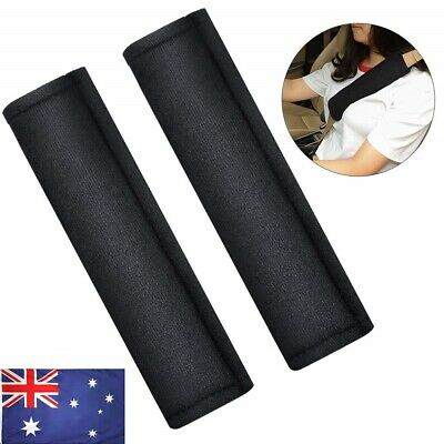 2 Pcs COMFORT Seatbelt Strap Cover, Car seat belt Cushion Pad with Hook and Loop