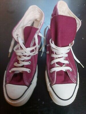 CONVERSE CHUCKS MADE In USA Gr. 6 ( 39 ), rosa, getragen mit