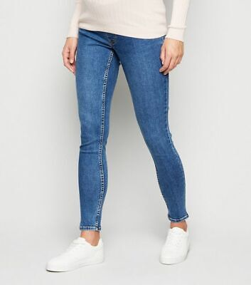 Skinny Slim Jeans Jeggings Maternity Over Bump Ex New Look Stretchy Pants 8-20