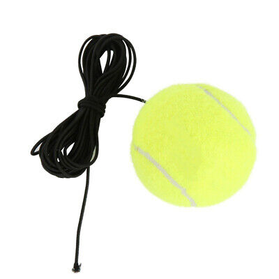 Elastic Rubber Band Tennis Ball Single Practice Training Belt Line Cord Tool NEW