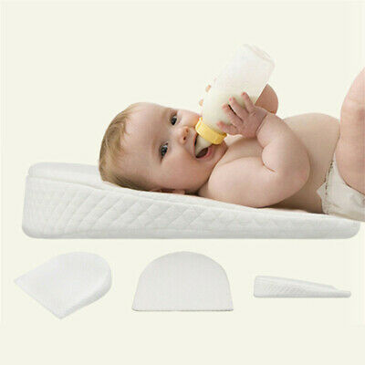 Infant Newborn Crib Wedge Pillow Memory Foam Removable Cover for Baby Reflux