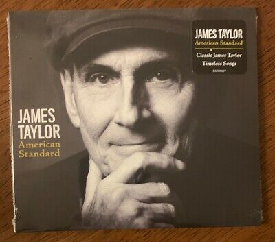 JAMES TAYLOR - American Standard - 2020 - FACTORY SEALED - BRAND NEW CD.