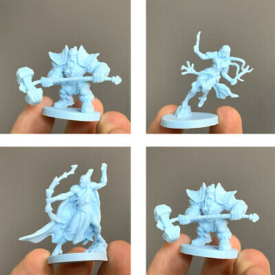 4x Blood Rage Monster Dungeons & Dragon D&D Marvelous Board Game Miniatures Toy