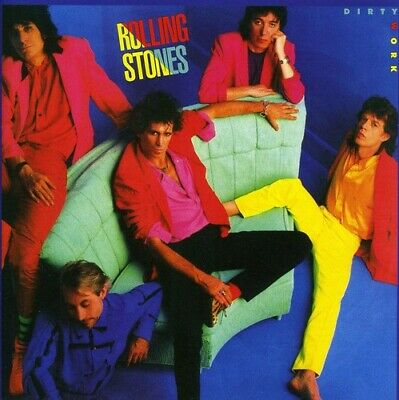 Rolling Stones Dirty Work Remastered CD NEW
