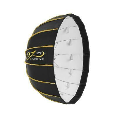 "Glow EZ Lock Collapsible White Beauty Dish (25"") #EZ-BD-25W"