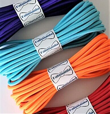 Round Elastic cord  stretch bungee cord  - 4 mm diameter