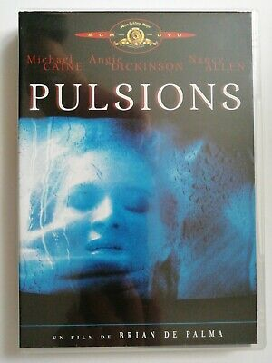 Pulsions. DVD. Michael Caine, Angie Dickinson.