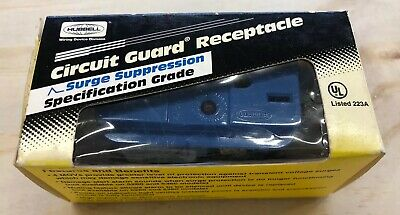 Hubbell Circuit Guard Receptacle Surge Supperssion