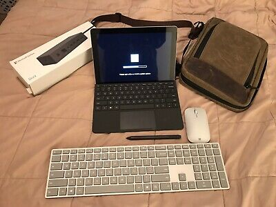 "Microsoft Surface Go 10"" 128 GB Touch Tablet Wi-Fi BUNDLE"