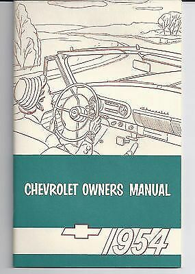 1950 CHEVROLET OWNERS MANUAL FOR GLOVE BOX     ALL MODELS