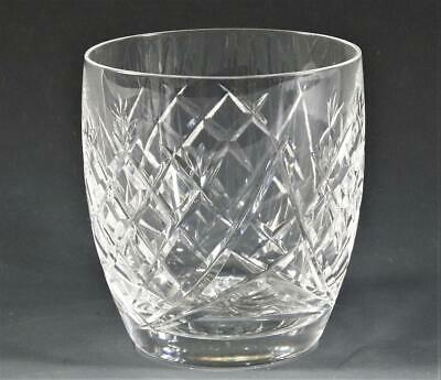 """Waterford Crystal """"DONEGAL (CUT) 3 1/2"""" Old Fashioned 9oz Glass- FREE SHIPPING"""