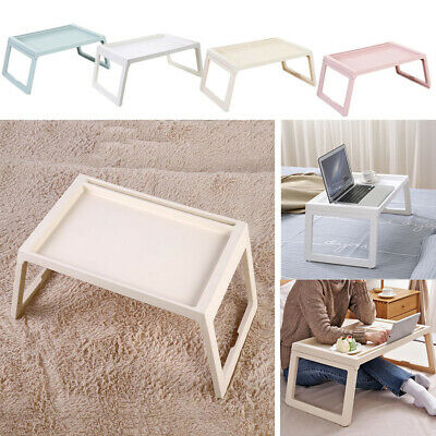 Portable Laptop Desk for Adult Kids Bed Dining Table Desk Tray w/ Folding Legs
