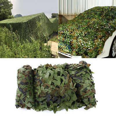 UK 5MX3M Army Camouflage Net Camo Netting Camping Shooting Hunting Hide Woodland