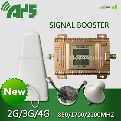 850 1700 2100 MHZ frequency Phone Signal Amplifier 4G LTE Mobile Signal Booster