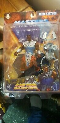 2005 Mini Statues Masters Of the Universe Clamp Champ neca