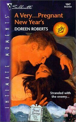 A Very...Pregnant New Years (Sensation), Roberts, Doreen, Used; Good Book