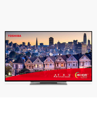 Toshiba 43UL3A63DB 43 Inch Smart 4K Ultra HD LED TV HDR Freeview HD USB Record