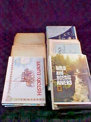 Lot of 77 National Geographic Maps from 1930 - 1990