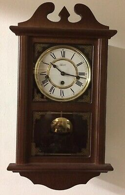 "Franz Hermle Wall Clock Westminster Chime ""Working """