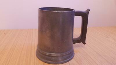 VB40: Early Edwards Clerkenwell Pint Pewter Tankard