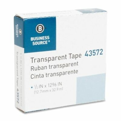 Business Source All-purpose Glossy Transparent Tape 43572