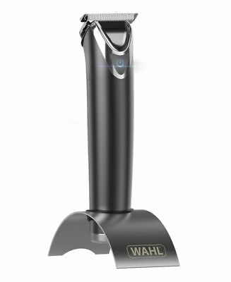 Wahl Stainless Steel Lithium Ion Beard Trimmer - Slate