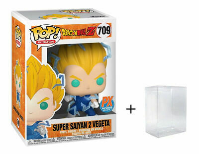 Funko Pop! Animation Dragon Ball Z Super Saiyan 2 Vegeta #709 PX Exclusive