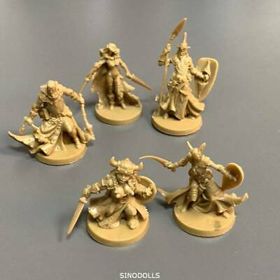 5x Cool Mini or Not Zombicide Hero D&D Marvelous Miniatures Board Game Toy
